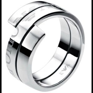 Emporio Armani Stainless Steel Ring